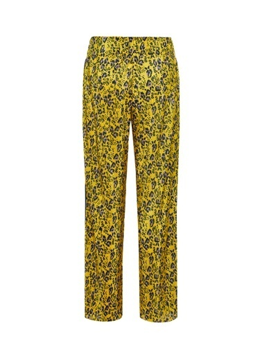 Name It Name It NKFLANVA %100 Polyester Desenli Kız Çocuk Lanva Pant Pantolon Sarı